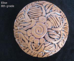 Elise Lotus coiling bowl