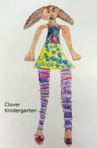 Clover self portrait fb
