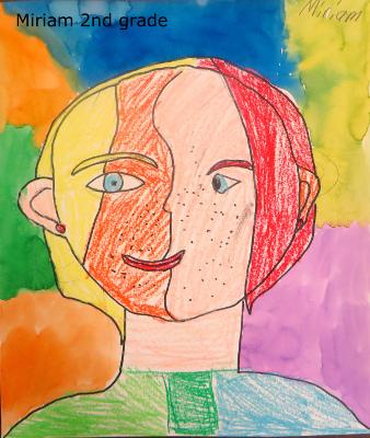 Miriam picasso portrait