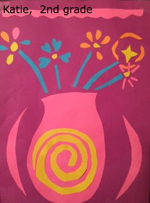 Katie collage flowers