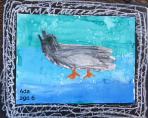 Ada duck painting